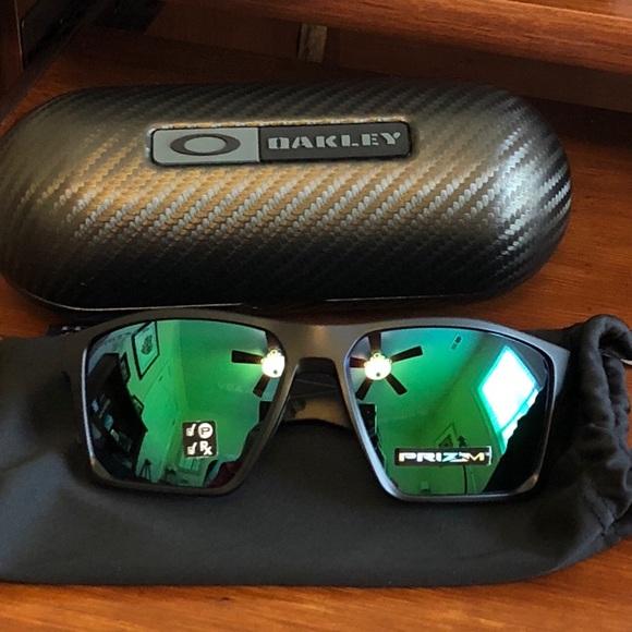 84ea220b5e Oakley Polarized Targetline with Prizm Jade lenses.  M 5b7ec6ef1b16db2d4d968d0e